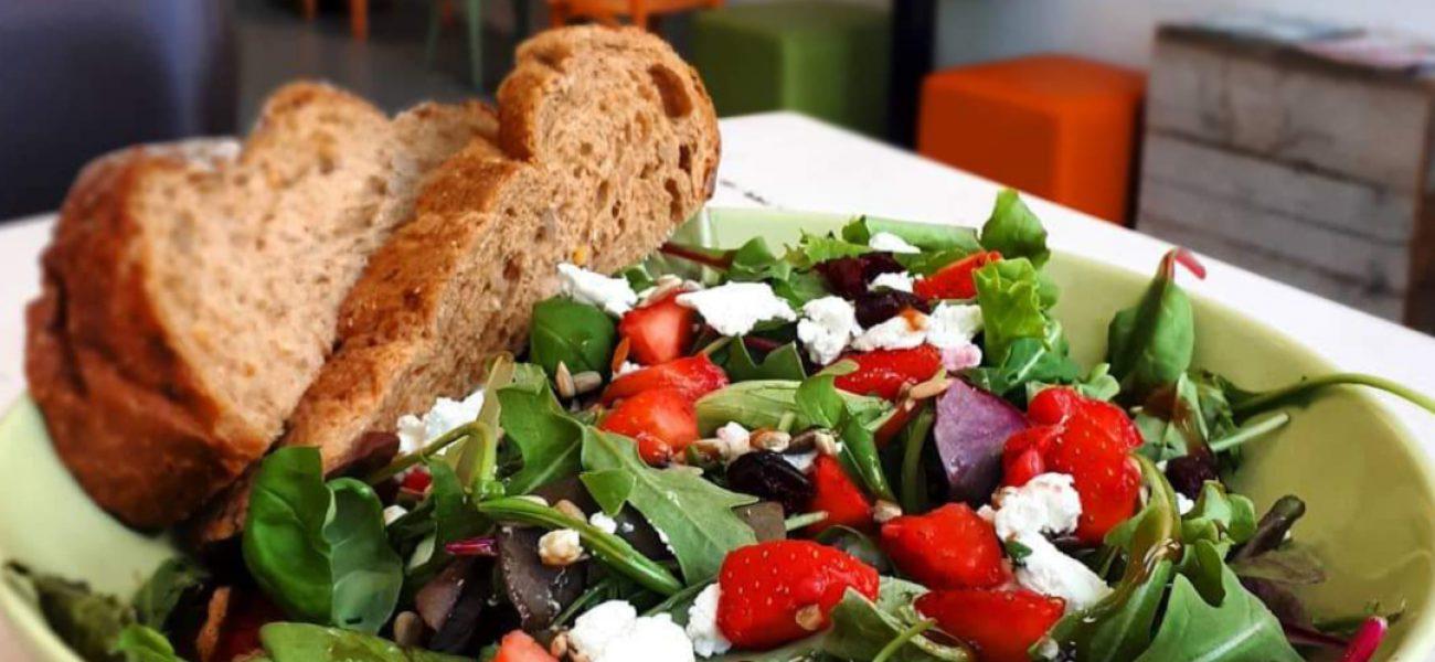 Een heerlijke zomerse salade